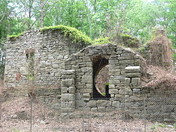 rough-hewn stone ruins