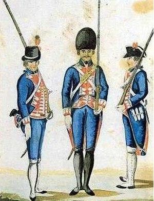 Walloon Guards - Walloon Guards c.1800