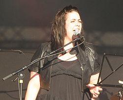 Gudrun Solja Jacobsen a Faroese female singer.jpg