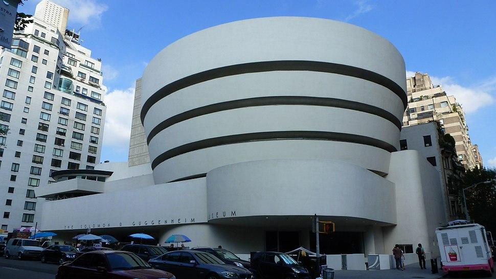 Guggenheim museum esterno