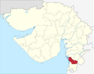Navsari district District in Gujarat, India