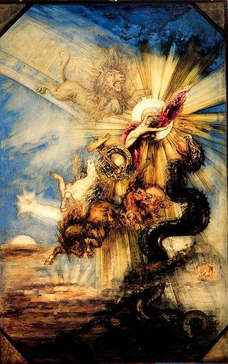 Phaethon - Phaethon, by Gustave Moreau