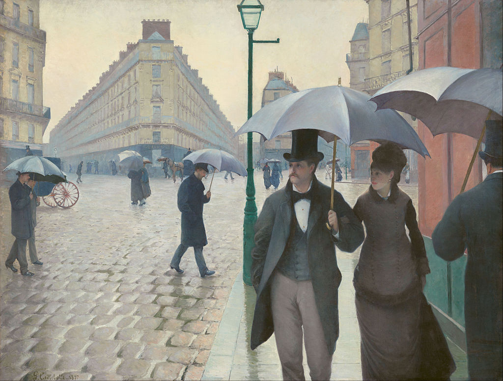 Gustave Caillebotte - Paris Street; Rainy Day - Google Art Project
