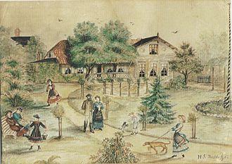 Clara Siewert - Image: Gut Budda 1882