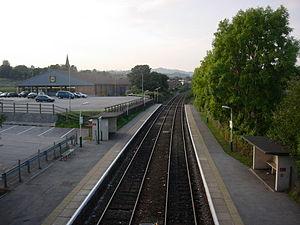 Gwersyllt - Gwersyllt railway station