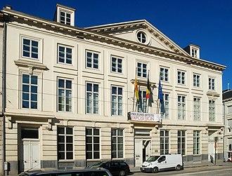 Parliament of the French Community - Image: Hôtel de Ligne 01