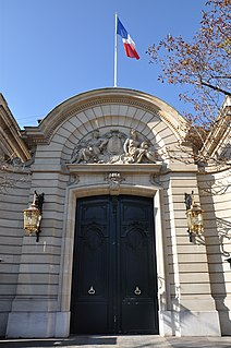 State guest house in Paris, France