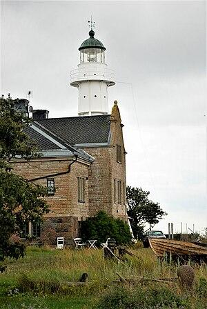 Högby Lighthouse - Image: Högby fyrvaktarhus