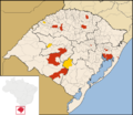 H1N1 Brazil RS Map.png