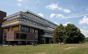 University and state library on the campus of Heinrich Heine University Düsseldorf