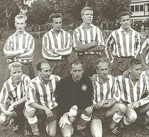 Helsingin Jalkapalloklubi - HJK squad in 1964.