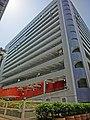 HK Hung Hom 黃埔新邨 Whampoa Estate pedestrian zone view indoor carpark building Mar-2013.JPG