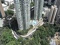 HK Kennedy Town 寶雅山 46A Belcher's Hill view 翰林軒 University Heights Smithfield June-2011.jpg