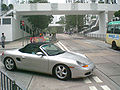 HK Quarry Bay Greig Crescent Nam Fung Sun Chuen Footbridges Grey Sports Car Sunday noon a.jpg