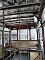 HK Tram 46 view 灣仔 Wan Chai 莊士敦道 Johnston Road upper deck interior November 2019 SS2.jpg
