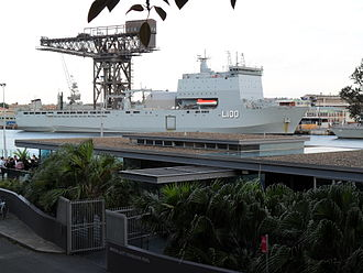 Claude Choules - HMAS Choules in December 2011