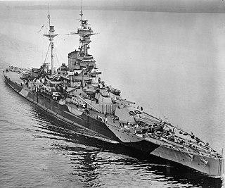 <i>Revenge</i>-class battleship ship class