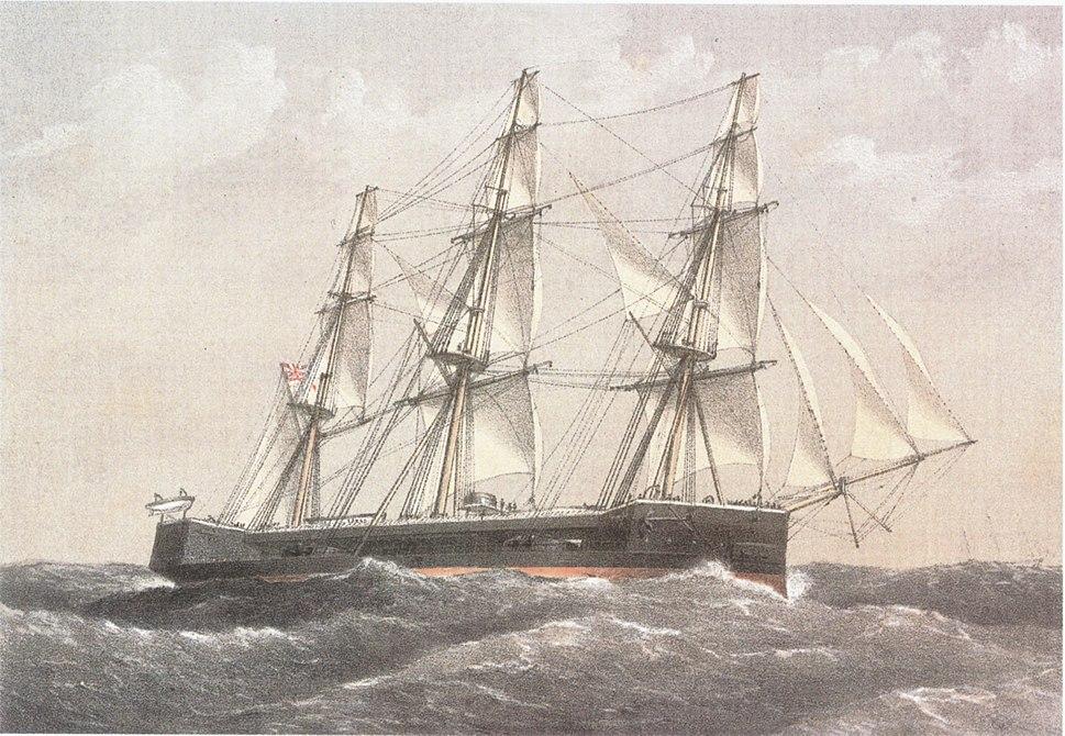 HMS captainWilliam Frederick Mitchell