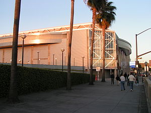 SAP Center - Side view of the arena