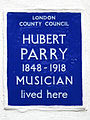 HUBERT PARRY 1848-1918 MUSICIAN lived here.jpg