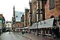 Haarlem, the Vleeshall and the Grote kerk.jpg