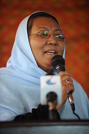 Habiba Sarobi - Habiba Sarobi as Governor of Bamyan in April 2011