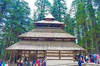 Hidimba Devi Temple - Side View Hidimba Devi Temple