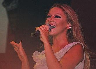 Hadise - Hadise performing in October 2011
