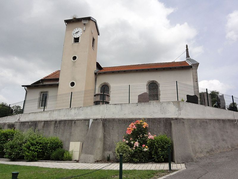 Haigneville (M-et-M) église