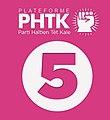 Haiti logo parti haitien tet kale PHTK.jpg