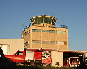 RAF Hal Far - The old control tower of Hal Far