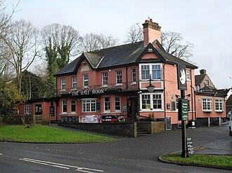 Southgate, West Sussex - The Half Moon Pub