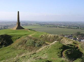 Ham Hill, Somerset - The War Memorial