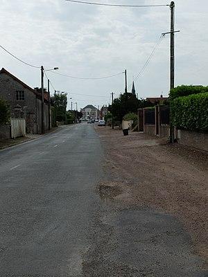 Hamblain-les-Prés - A road in Hamblain-les-Prés