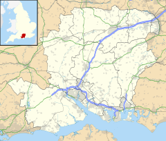 Poulner is located in Hampshire