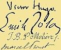Handtekeningen van meerdere franse auteurs (collage).jpg