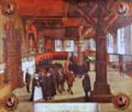 Hans van Hemssen. Sitzung des Lübecker Ratsgerichts, 1625. St. Annen-Museum In Topographia Saxoniae Inferioris. M. Merian, Frankfurt 1653.png