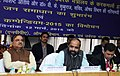 Hansraj Gangaram Ahir addressing at the launch of the 'Pharma Jan Samadhan', in New Delhi on March 12 2015. The Union Minister for Chemicals and Fertilizers, Shri Ananthkumar is also seen.jpg
