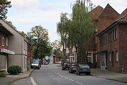 Hauptstraße in Ahlen