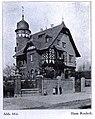 Haus Rocholl an der Kaiserswerther Straße 200 in Düsseldorf, erbaut von 1893 bis 1894, Architekten Klein & Dörschel, Bauherr war der Maler Theodor Rocholl.jpg