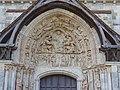 Haut du portail nord Eglise abbatiale Saint-Benoît.jpg