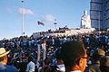 Havanna Anfang 1973 Rede von Fidel Castro vor dem Jose Marti Denkmal 2.jpg