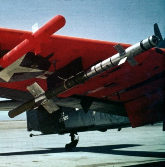 Heat-Homing Rocket on AD Skyraider c1952