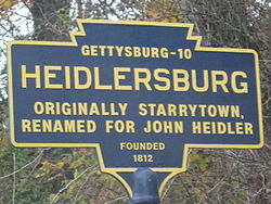Official logo of Heidlersburg, Pennsylvania