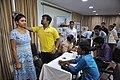 Height Measurement - Health Check-up Camp - NCSM - Salt Lake City - Kolkata 2017-06-21 2881.JPG
