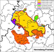 Henneberg-Franken heute