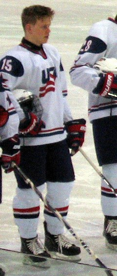 Description de l'image Henrik Samuelsson Team USA 2011.jpg.