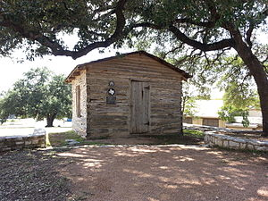 Henry Green Madison - Madison's original cabin, relocated to East Austin's Rosewood Park