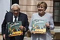 Henry Kissinger and Chancellor Merkel at the German Historical Museum (35315261761).jpg