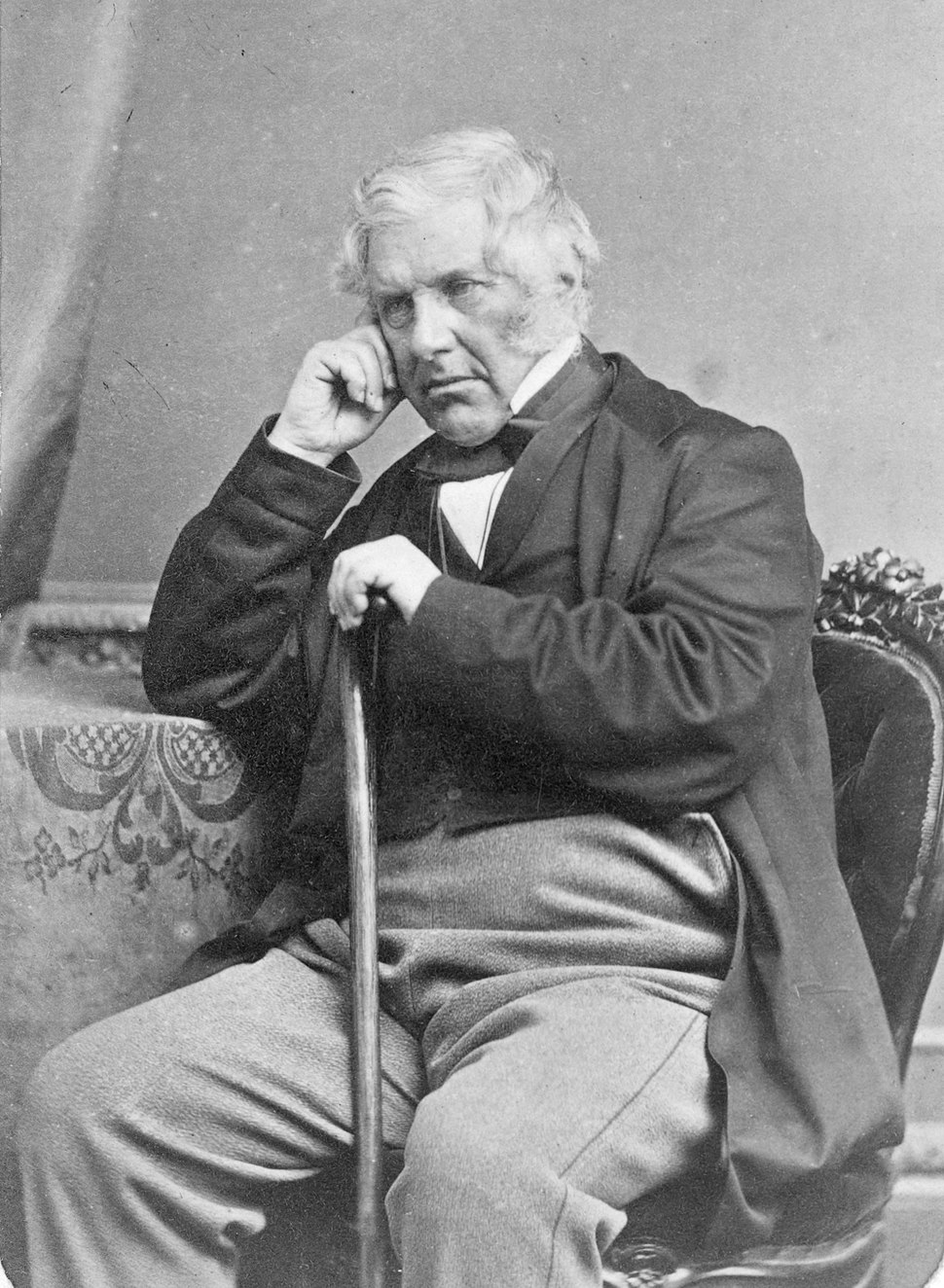 Henry Sewell, ca 1872